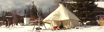 Photo: North House Folk School winter camping