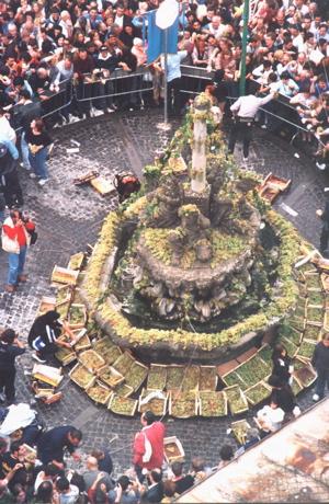 Photo: Fountain in Marino, Italy