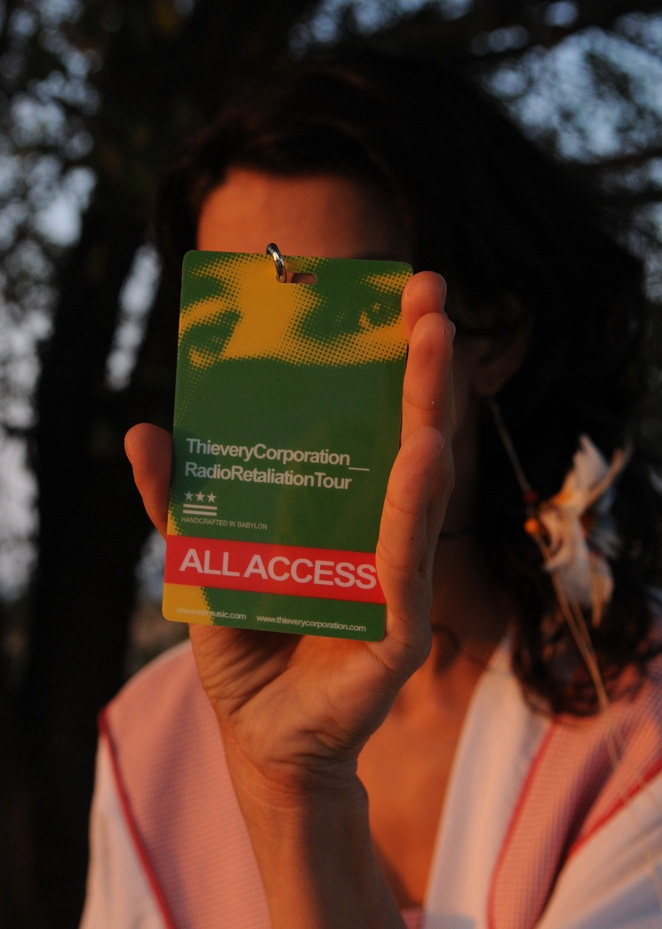 Photo: All Access pass
