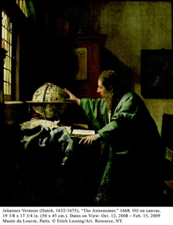 Photo: Vermeer's Astronomer